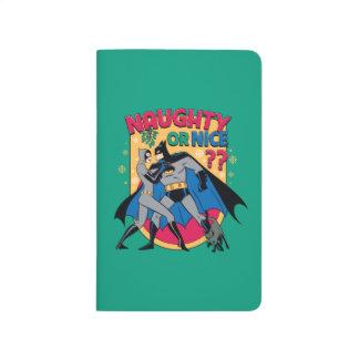 Batman   Catwoman Under Mistletoe Naughty Or Nice Journal