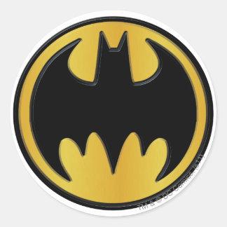 Batman Classic Logo Round Sticker