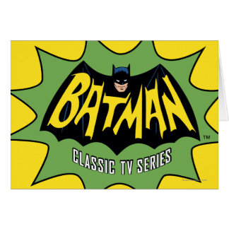 Batman Classic TV Series Logo Card