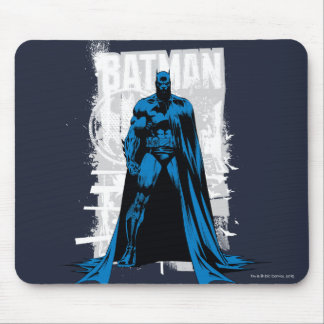 Batman Comic - Vintage Full View Mouse Pad