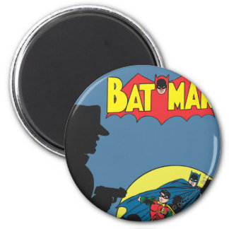 Batman Comic - with Robin 2 Inch Round Magnet