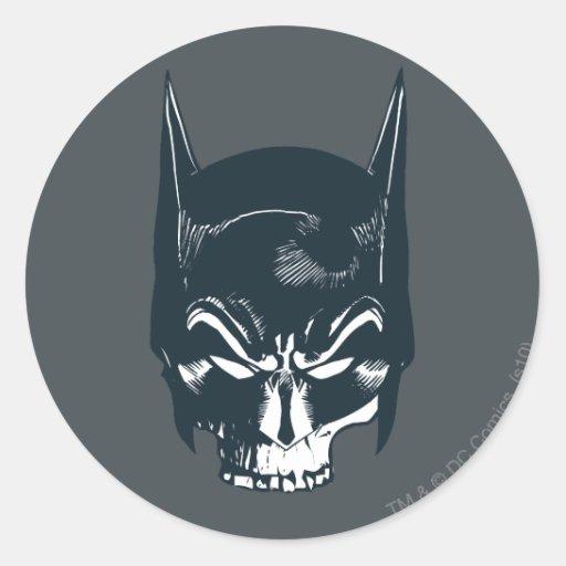 Batman Cowl/Skull Icon Sticker