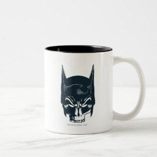Batman Cowl/Skull Icon Two-Tone Mug