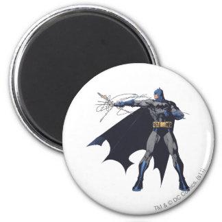 Batman crazy ropes 2 inch round magnet