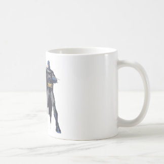 Batman crazy ropes classic white coffee mug