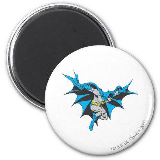 Batman Crouches 2 Inch Round Magnet