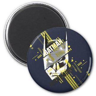 Batman Dark Knight Futuristic 2 Inch Round Magnet