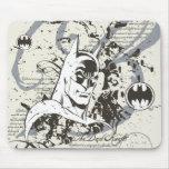 Batman Dark Knight Manuscript Montage Mousepads