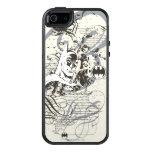Batman Dark Knight Manuscript Montage OtterBox iPhone 5/5s/SE Case