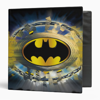Batman Decorated Logo 3 Ring Binder