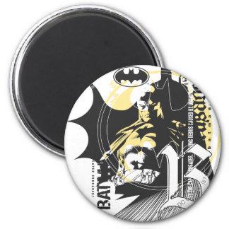 Batman Design 17 2 Inch Round Magnet