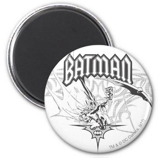 Batman Design 25 Fridge Magnets