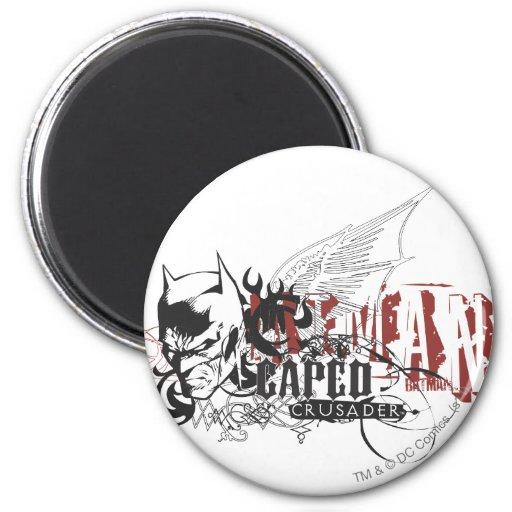 Batman Design 7 Fridge Magnets