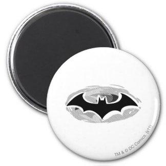 Batman Drawn Icon 2 Inch Round Magnet