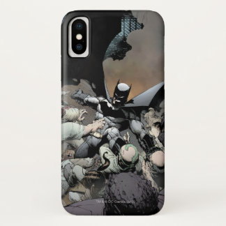 Batman Fighting Arch Enemies Case-Mate iPhone Case