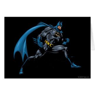 Batman Fists Card