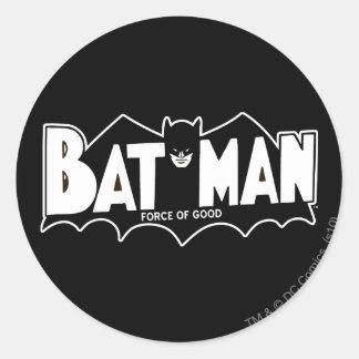 Batman | Force of Good 60s Logo Round Sticker