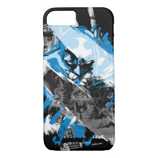Batman Future Cityscape Montage iPhone 7 Case