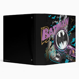 Batman Gotham Skyline Sketch Binder