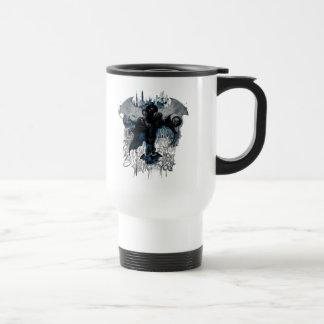 Batman Graffiti Graphic - I Know How You Think Travel Mug
