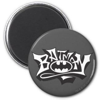 Batman Graffiti Name 2 Inch Round Magnet