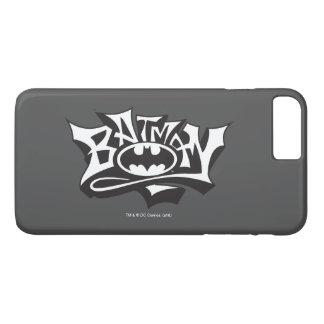 Batman | Graffiti Name Logo iPhone 7 Plus Case