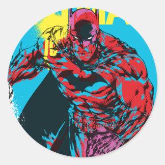 Batman Graphic 1 Round Sticker
