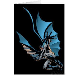 Batman hand in foreground card