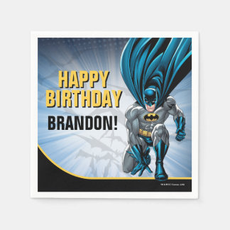 Batman | Happy Birthday Paper Napkin