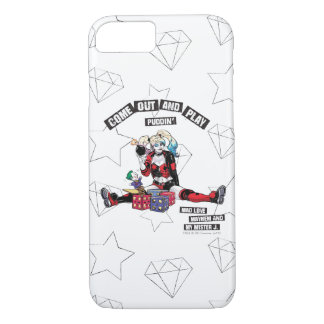 "Batman | Harley Quinn ""Come Out And Play Puddin'"" iPhone 8/7 Case"