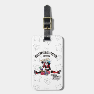 "Batman | Harley Quinn ""Come Out And Play Puddin'"" Luggage Tag"