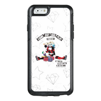 """Batman   Harley Quinn """"Come Out And Play Puddin'"""" OtterBox iPhone 6/6s Case"""