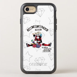 "Batman | Harley Quinn ""Come Out And Play Puddin'"" OtterBox Symmetry iPhone 8/7 Case"
