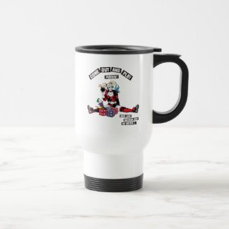 "Batman | Harley Quinn ""Come Out And Play Puddin'"" Travel Mug"