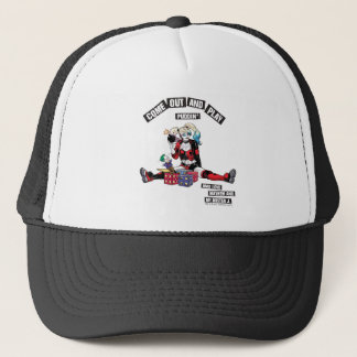 "Batman | Harley Quinn ""Come Out And Play Puddin'"" Trucker Hat"