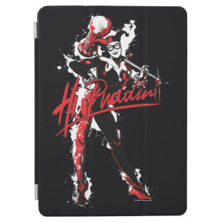 "Batman | Harley Quinn ""Hi Puddin'"" Ink Art iPad Air Cover"