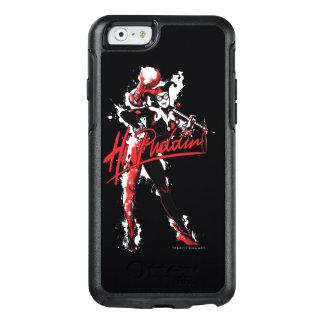 "Batman   Harley Quinn ""Hi Puddin'"" Ink Art OtterBox iPhone 6/6s Case"