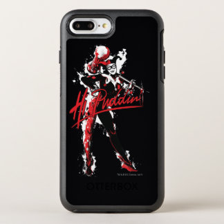 "Batman | Harley Quinn ""Hi Puddin'"" Ink Art OtterBox Symmetry iPhone 8 Plus/7 Plus Case"