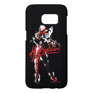 "Batman | Harley Quinn ""Hi Puddin'"" Ink Art Samsung Galaxy S7 Case"