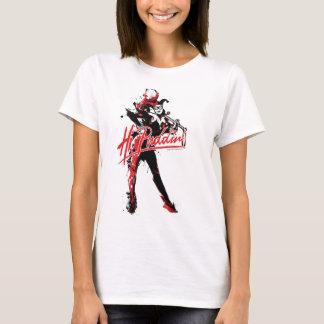 "Batman | Harley Quinn ""Hi Puddin'"" Ink Art T-Shirt"