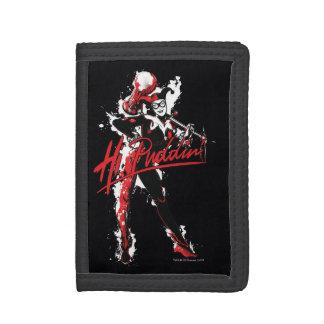 "Batman | Harley Quinn ""Hi Puddin'"" Ink Art Trifold Wallets"
