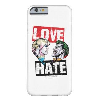 Batman   Harley Quinn & Joker Love/Hate Barely There iPhone 6 Case