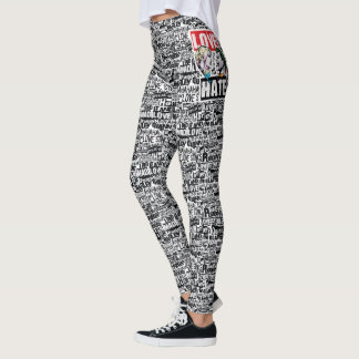 Batman | Harley Quinn & Joker Love/Hate Leggings