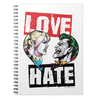 Batman | Harley Quinn & Joker Love/Hate Notebooks