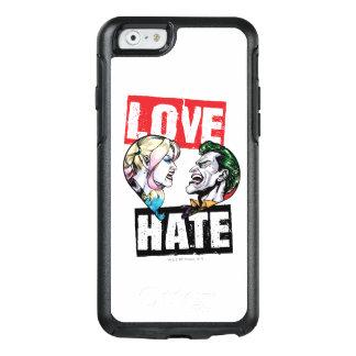 Batman   Harley Quinn & Joker Love/Hate OtterBox iPhone 6/6s Case