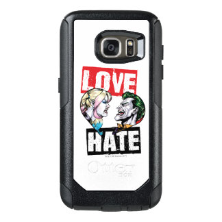 Batman | Harley Quinn & Joker Love/Hate OtterBox Samsung Galaxy S7 Case