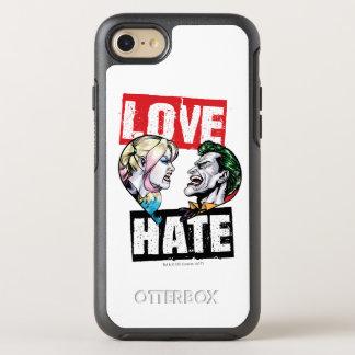 Batman   Harley Quinn & Joker Love/Hate OtterBox Symmetry iPhone 8/7 Case