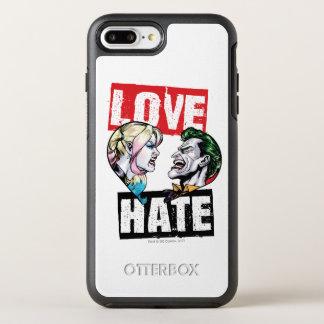 Batman   Harley Quinn & Joker Love/Hate OtterBox Symmetry iPhone 8 Plus/7 Plus Case