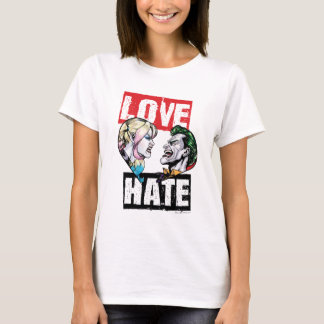 Batman | Harley Quinn & Joker Love/Hate T-Shirt