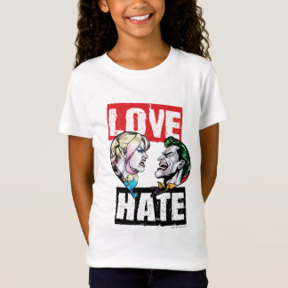 Batman | Harley Quinn & Joker Love/Hate T-Shirt